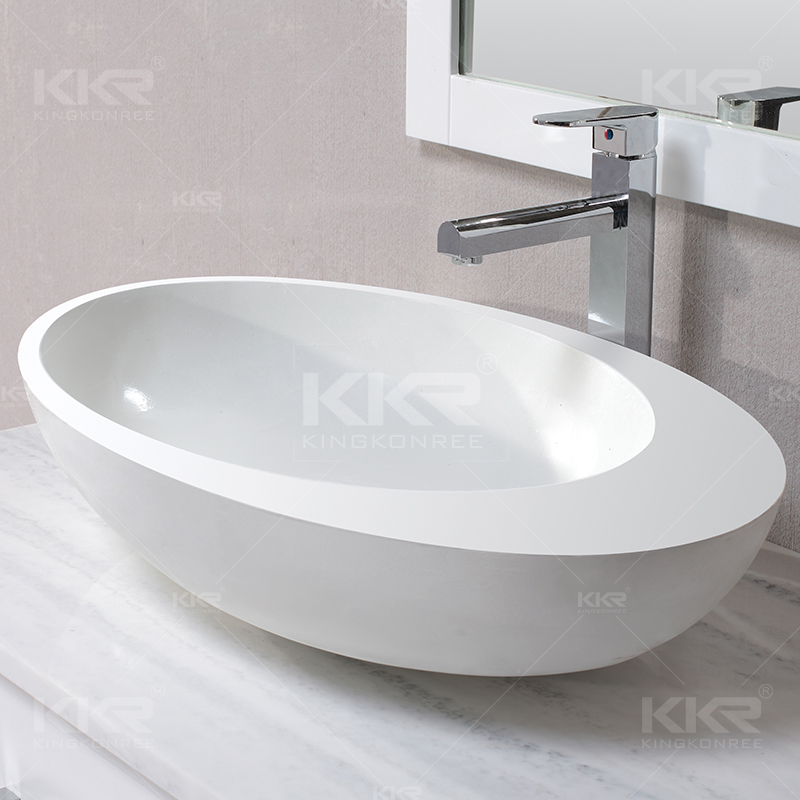 Bol de lavage en acrylique à surface solide KKR-1056